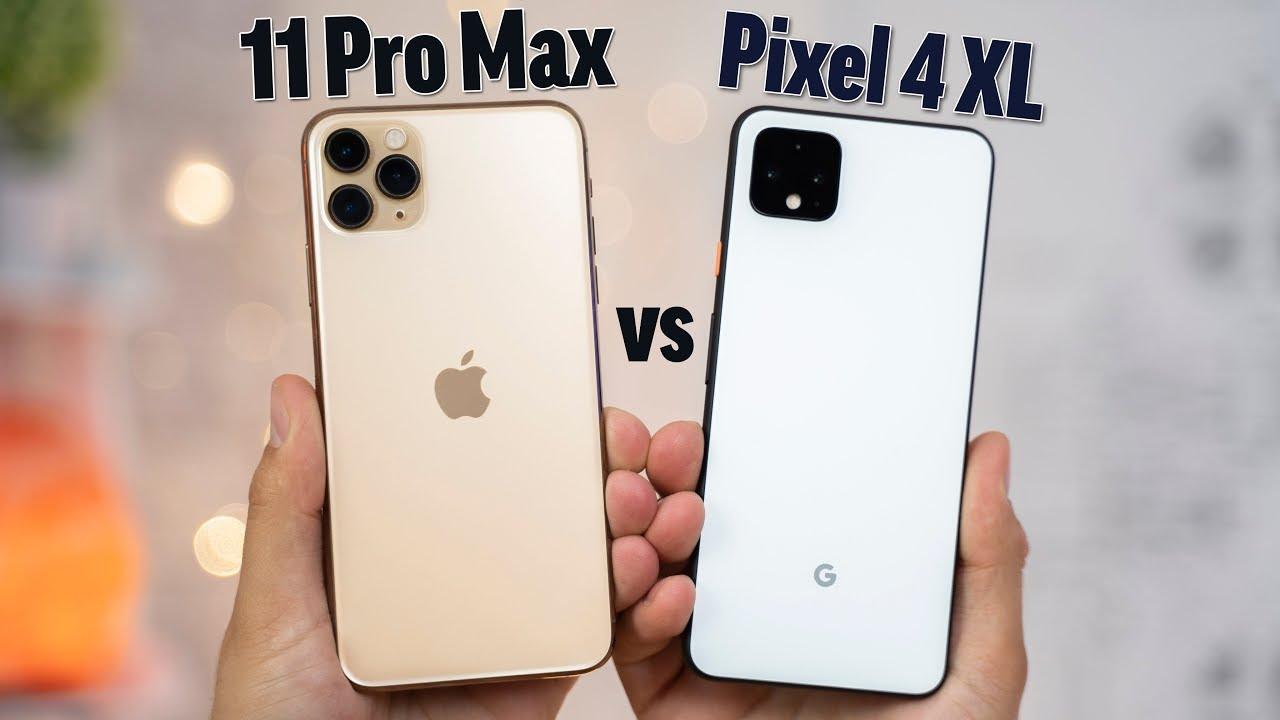 Photo of Pixel 4 XL vs iPhone 11 Pro Max – Full Comparison – شركة ابل
