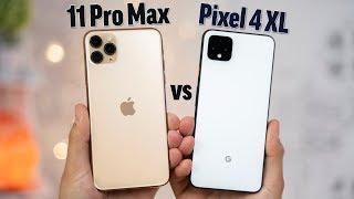 Pixel 4 XL vs iPhone 11 Pro Max - Full Comparison