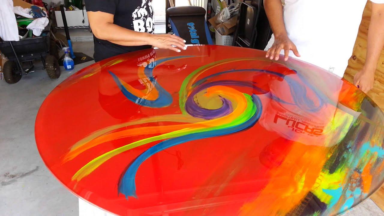 Alton Altonartwork Cooper Glass TableTop Creation   YouTube