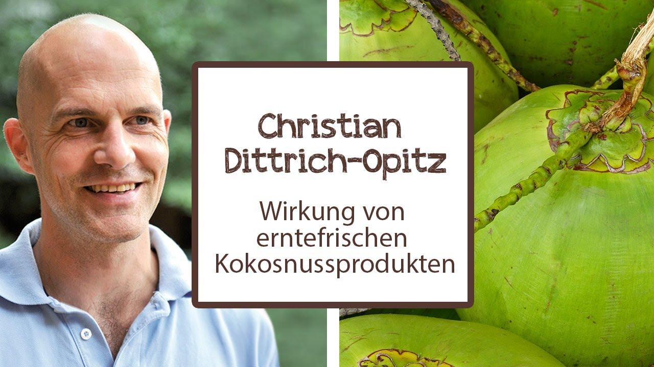 christian dittrich opitz erz hlt ber die wirkung von erntefrischen kokossnussprodukten youtube. Black Bedroom Furniture Sets. Home Design Ideas
