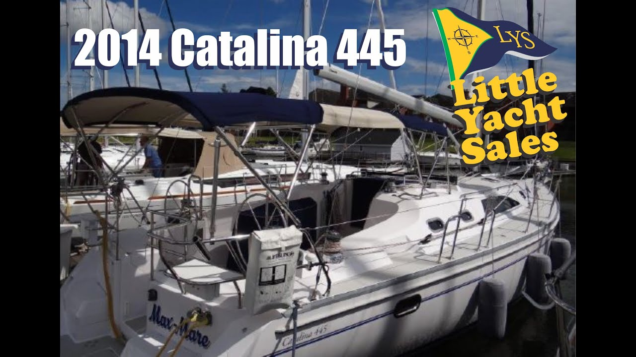 SOLD!!! 2014 Catalina 445 sailboat for sale at Little Yacht Sales, Kemah  Texas