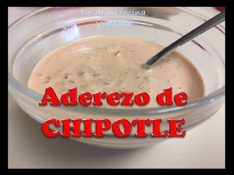 Aderezo de Chipotle/Chipotle Dip