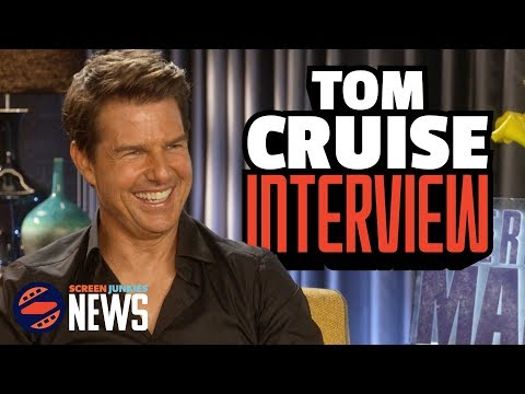We Got To Interview TOM CRUISE!  - American Made Interview