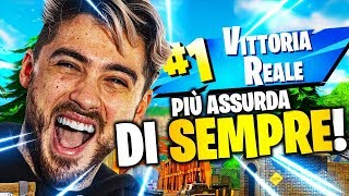 REAL VITTORY with the FINAL MORE ASSURDO OF ALWAYS! FORTNITE ITA
