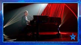 Martín EMOCIONA con una versión de Joaquín Sabina al piano | Semifinal 3 | Got Talent España 2019