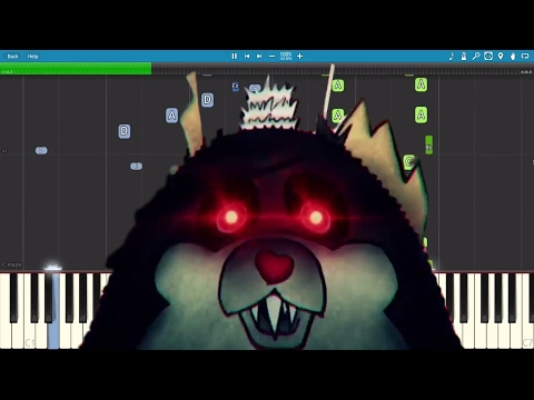 Tattletail Rap - JT Machinima - Don't Tattle On Me - Piano Cover / Tutorial