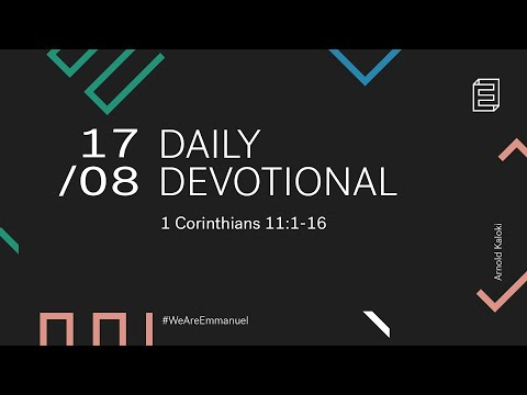 Daily Devotional with Arnold Kaloki // 1 Corinthians 11:1-16 Cover Image