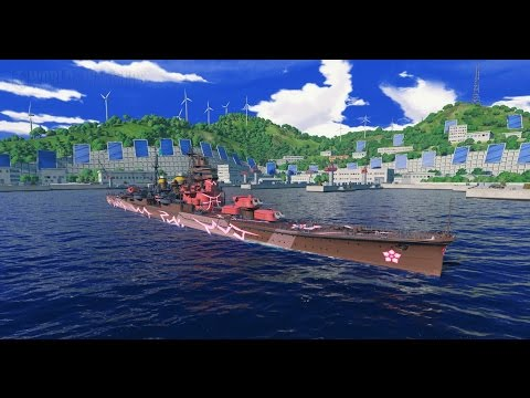 World of Warships - ARP Ashigara Gameplay