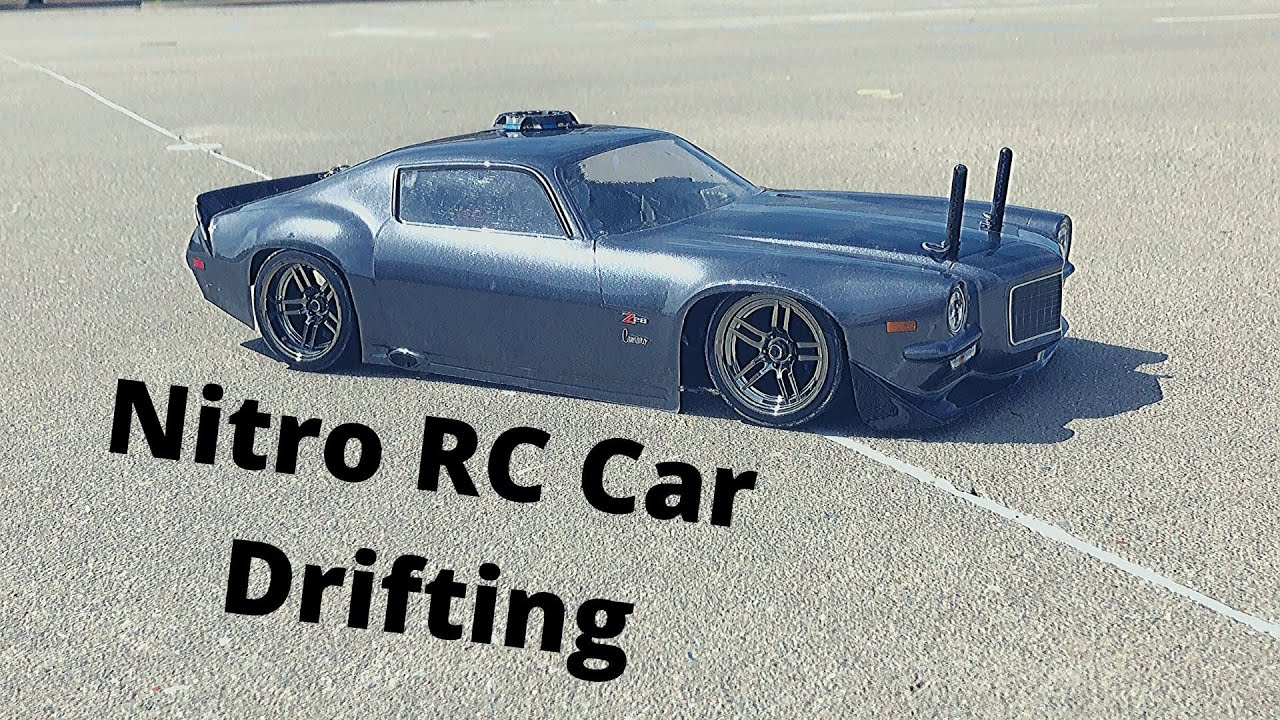 Nitro Rc Car Drifting Traxxas Nitro 4tec Youtube
