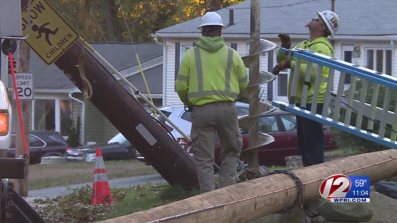 National Grid: It could take days to restore power to all in RI