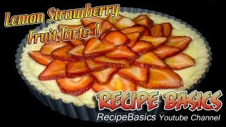 Lemon Strawberry Fruit Tart Recipe