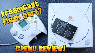 Sega Dreamcast Flash Cart? GDEMU Install & Review!