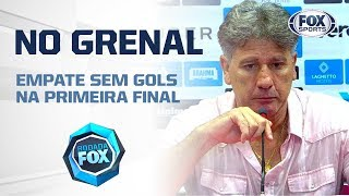 Renato Gaúcho minimiza discussão com Cuesta: