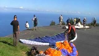 parapente paragliding 1er vol ile de la réunion
