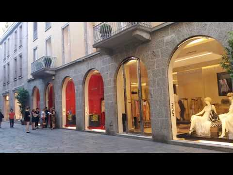 Milan le quadrilatère de la mode
