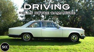 Rolls-Royce Camargue - Test drive in top gear - Subtle Rolls Royce V8 Engine sound