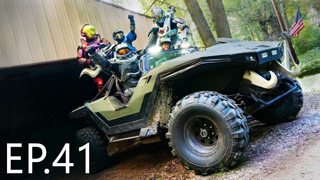 Chief VS a Real Life Warthog!!! - This did NOT go as planned... | Living With Chief Ep.41