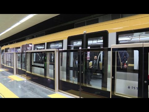 Erdogan opens Turkey's first driverless metro line in Istanbul