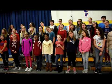 Dover Air Force Base Middle School Veterans Day Ceremony 2017