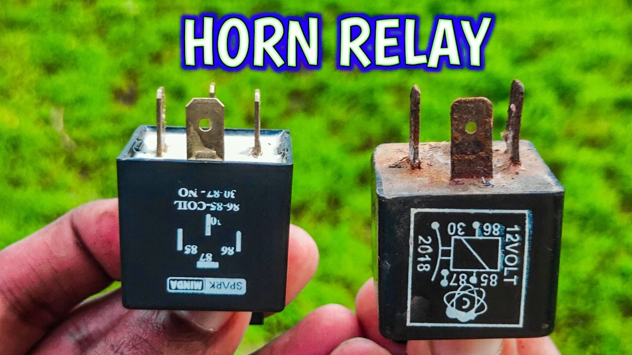 Fixing Horn Problem  Relay Wiring