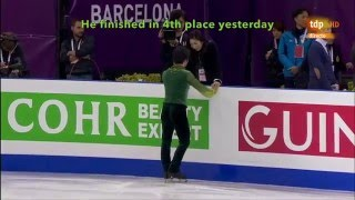 [ENG SUB] Spanish Commentary: Shoma Uno (JPN) FS - GPF 2015