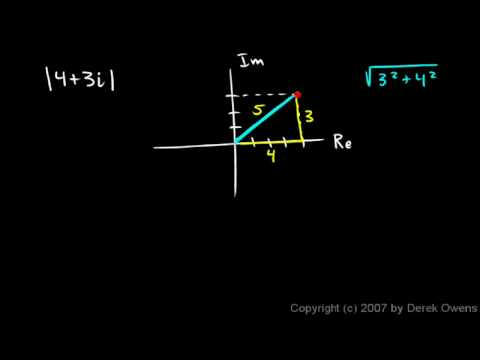 Algebra 2  4.4k - Complex Numbers, Part 11 - Absolute Value