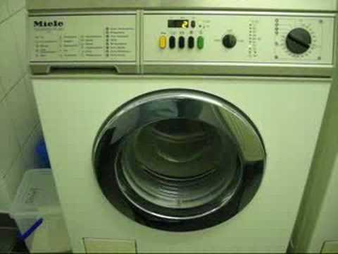 Miele Washing Machine >> Miele Professional WS 5425 (MC 23) - Part 2 - YouTube