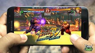 STREET FIGHTER IV CHAMPION EDITION, FINALMENTE CONFERINDO O GAME ANDROID/IOS