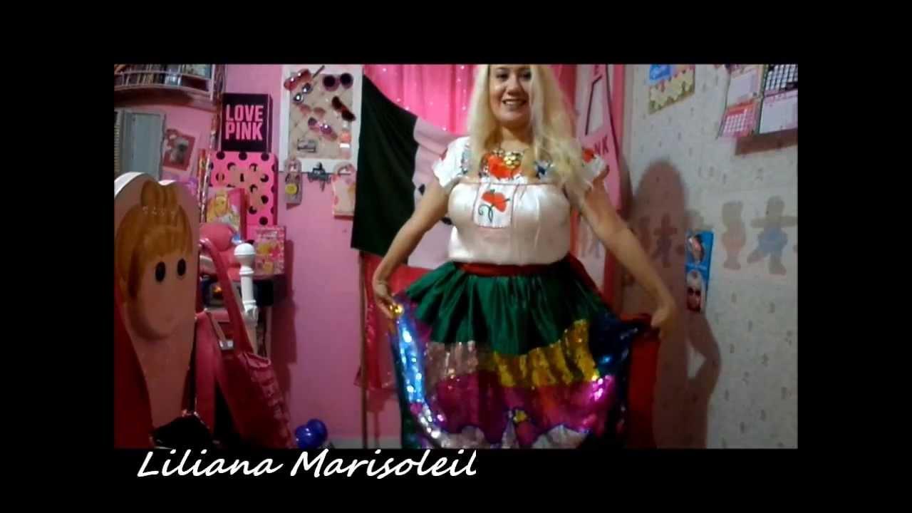 China poblana hermoso traje tipico viva mexico youtube for Menu cinese tipico