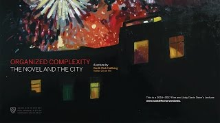 Garth Risk Hallberg | Organized Complexity: The Novel and the City | Radcliffe Institute