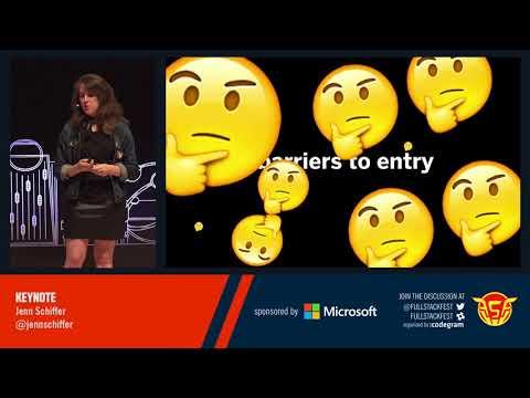 Front-end keynote (Jenn Schiffer)