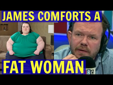 HYPOCRITE James O'Brien COMFORTS a Sad FAT WOMAN - LBC