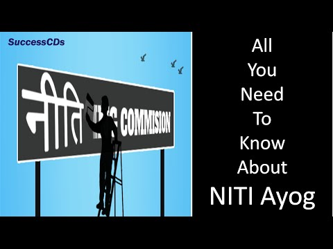 Niti Aayog | नीति आयोग | Planning Commission in the Past