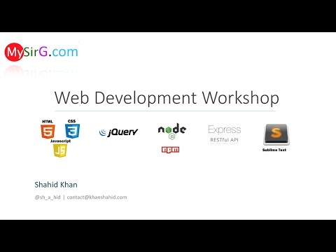 #4 Web Development Workshop | HTML | Cross Browser Support (Hindi)