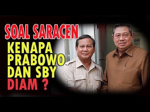 SOAL SARACEN SBY DAN PRABOWO BUNGKAM....JOKOWI BONGKAR DIBALIK SARACEN