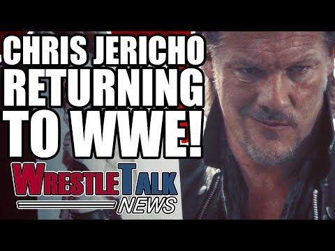Chris Jericho RETURNING To WWE RAW!   Triple H SHOOTS On Goldberg! WrestleTalk News Jan. 2018