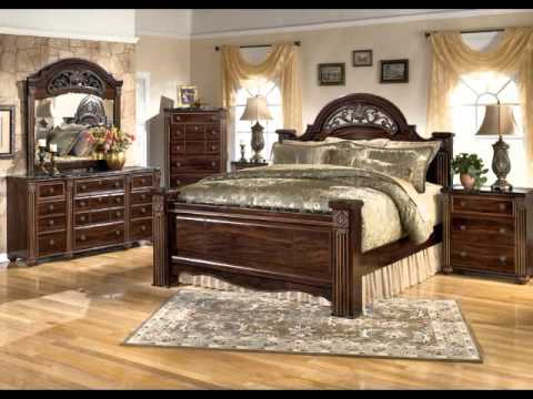Best pics of ashley furniture bedroom sets youtube Home furniture outlet cerritos