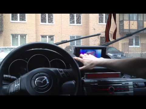 mazda 3 navigation preview install nexus 7 - youtube