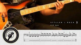 Zafer Şanlı Bas Gitar Dersleri Stiller Rock 3 110 Bpm