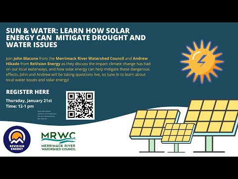 Sun & Water: How Solar Energy Can Mitigate Drought and Water Issues
