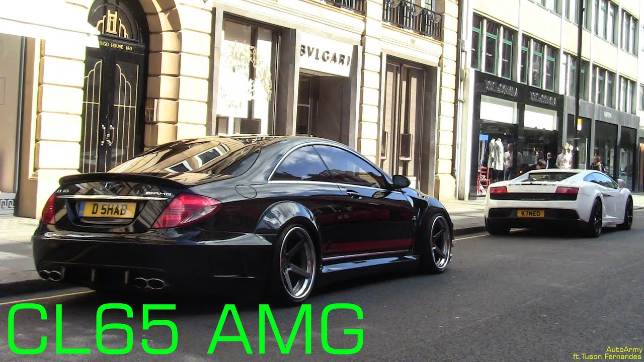 Mercedes benz cl65 amg w prior design black series kit for Mercedes benz amg kit