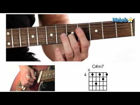 How to Play a C Sharp Minor Seven (C#m7) Chord on Guitar