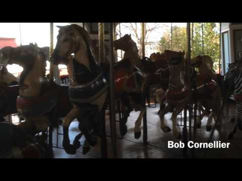 The 1909 Illions Carousel at Six Flags New England.