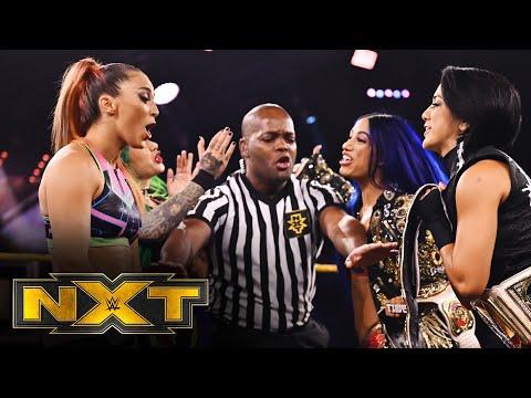 Bayley & Banks vs. Nox & Blackheart – Women's Tag Team Title Match: WWE NXT, June 17, 2020
