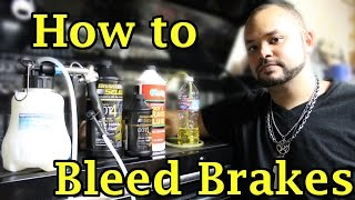 How to Bleed Brakes on a Motorcycle