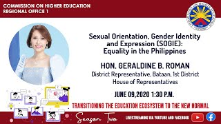 Sexual Orientation, Gender Identity and Expression (SOGIE): Equality in the Philippines