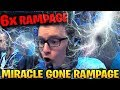 watch he video of MIRACLE 6x RAMPAGE 2x ULTRAKILL IN 20 MINUTES!!!! Dota 2 7.17