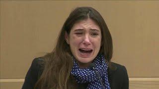 Tearful woman accepts plea deal for fatal DUI crash