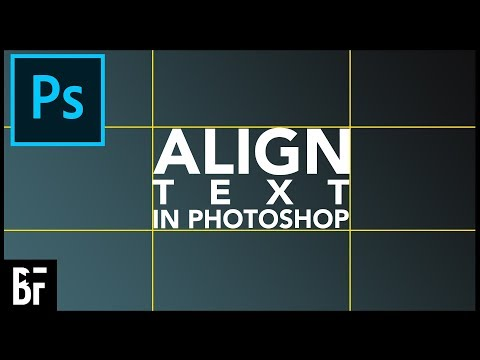 Perfectly Align Text In Photoshop