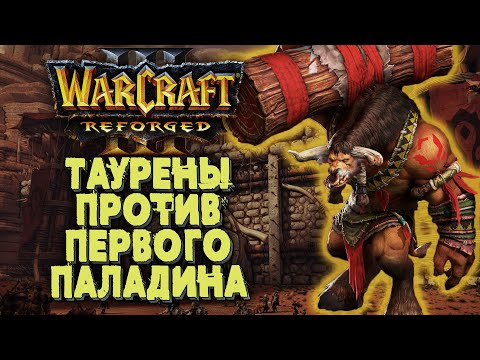 ТАУРЕНЫ ПРОТИВ ПАЛАДИНА: Sunny (Hum) vs Hankk (Orc) Warcraft 3 Reforged